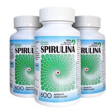 Spirulina - 600 Tabletten - 150g - 100% Naturliche Spirulina Maxima - German label