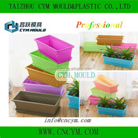 hot sale high quality injection 12 inch flower pot mold