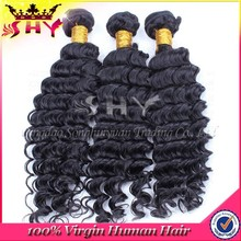 Wholesale Price Deep Wave Virgin Brazilian Human Hair Extension Bundle