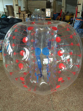 Commercial inflatable body zorb/bubble soccer / bubble ball for football