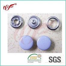 New Classical Metal Enamel Pronged Snap Button With Cap Customized Design