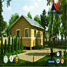 2015 eco-friendly easy assembled prefabricated house with solar panel hydraulic container