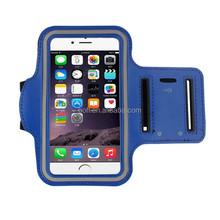 Gym exercise phone bag pvc+neoprene antistatic waterproof sport armband case