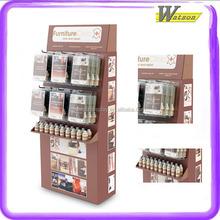 Electronic Parts Portable Walkman Sound Speaker Amplifier 2 Tier Cardboard Display Stand