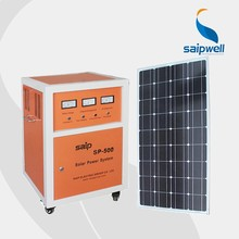 DC/AC output high capacity heavy duty 300W solar generator power systerm for home