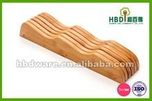 Bamboo wood eco-friendly bamboo kinfe block,kitchen knife block,knife block wholesale