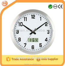 30cm led wall clocks with day and date