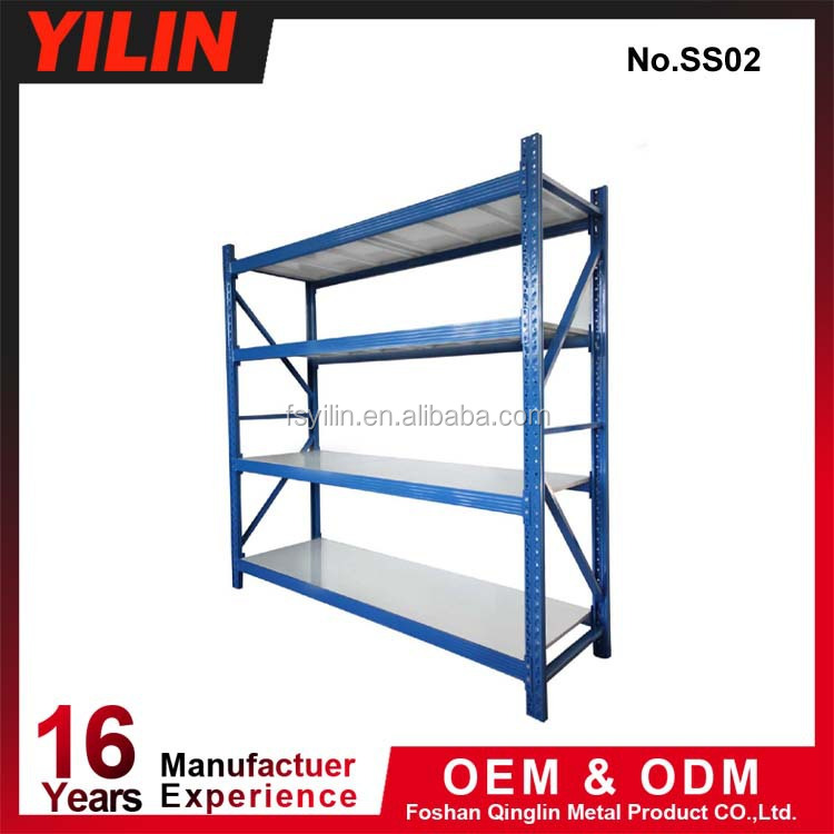 manufacturing customized iron pipe metal storage shelf