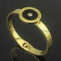 vente en gros bracelet en or épais de promotion