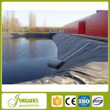 resistant chemical geomembrane plastic blue black pond liner fish water pond liner