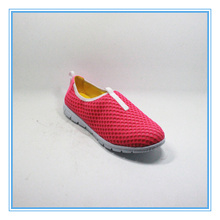 China fashion lady casual walking shoes with cheaper price