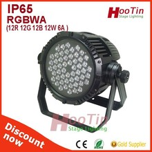 High quality 54pcs waterproof led par 64