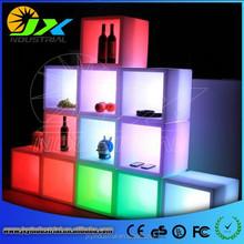 Lighted RGB Plastic Illumilating Waterproof Led White Modern Home Bar Cabinet
