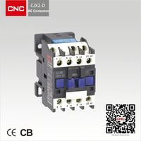 Different type factory high quality CJX2-D ac magnetic contactor