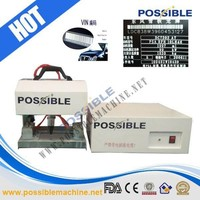 2014 hot selling Possible brand portable metalic pneumatic numbering labeling marking machine