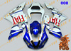 FDB Aftermarket bodywork fairing cowling YZF R1 2000 01 painting color 008