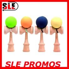 2015 rubber paint kendama kendama toy wooden kendama for wholesale