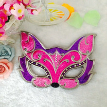 Lovely Cartoon Fox Head Design Masquerade Party Face Masks