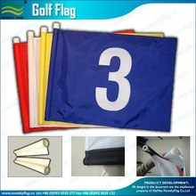 Nylon plastic tube golf flag sale