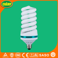 65W tri-color full spiral energy saving lamp