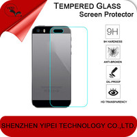Anti-shock Premium 2.5D 9H Back Tempered Glass Screen Protector For Apple iPhone 5 5s 5c 6 6plus 4 4s