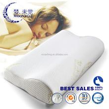 B shape classic luxury soft standard comfortable classic comfortable memory foam adult pillow size 54*34*12/6cm