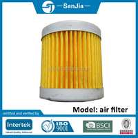 farm machinery parts diesel engine S195 yellow fuel filter element for tractor
