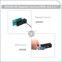 zcs100 NFC + MSR desktop card reader supprot android
