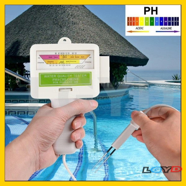 Home Swimming Pool Water Ph Cl2 Tester Cable Length Buy Swimming Pool Water Ph Cl2
