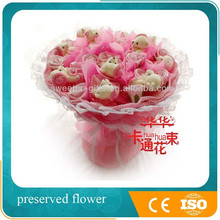 new birthday gift for girl plush toy 11 bears artificial bouquet decoration wedding table