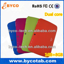 manufacture OEM 7' touch colorful kid education tablet