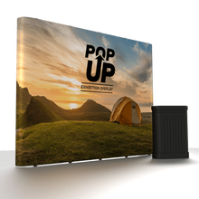Popular exhibition display pop up stand booth