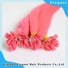 2013 hair extensions flat keratin tip