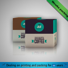 wholesale 11 years professional paper box for coffee