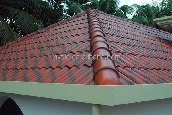 Rose Red Ceramic Spanish Roof Tile View Red Cerammic Roof Tile - Best prices on ceramic tile