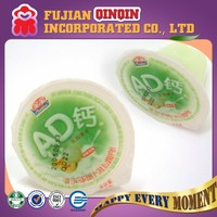 20g AD calcium mini cup instant fruit jelly pudding