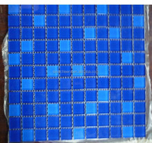 Stock Crystal Bathroom Glass Wall Tile Mosaic Pattern Square 25x25