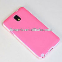 FL3285 2013 Guangzhou new arrival dual color soft gel tpu silicone skin case cover for samsung galaxy note 3 n9000