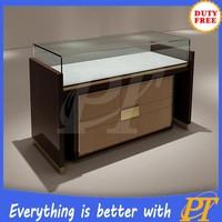 High quality jewelry display showcase glass display showcase for jewelry display