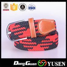 Latest Unisex Casual Woven Elastic Belts