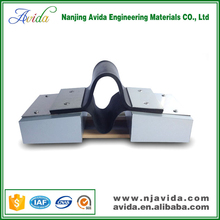 Waterproof roof design rubber construction joint