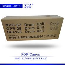 IR2018 drum unit for Canon NPG37/GPR25/CEXV23 copier spare parts