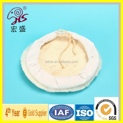 Tie Up Sheep Skin Car Care Products Wool Pads
