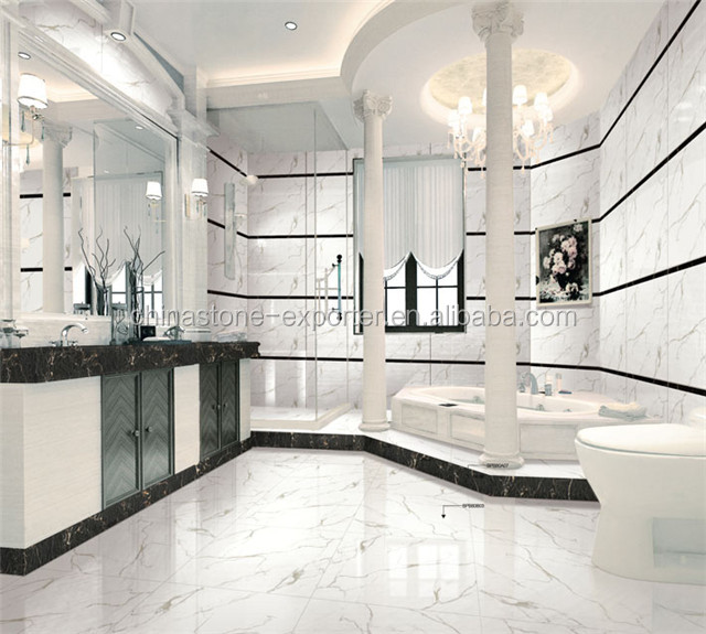 white marble floor tile kitchen