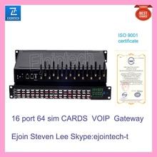 16 port GSM gateway device that changes voice