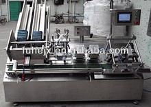 Facial mask packing machinery FU-02TM Double-head full-auto intelligent filling sealing facial mask production line