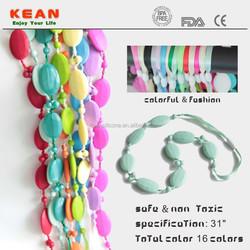 Baby Nice Bead Necklace Silicone Pendant Teething Wholesale