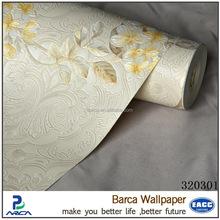 Barca 3203 series classic design vinyl wallcovering/decorative wallpaper