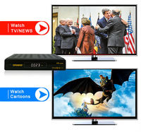 openbox v8 combo satellite tv receiver support unicable +ip camera +iptv similar to cloud ibox 3