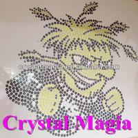 Crystal Magia garment accessories to glue sequin design hot fix pattern